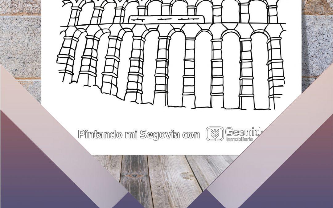 Colorea tu Segovia con Gesnido